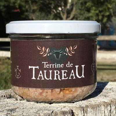 Terrine de taureau nature