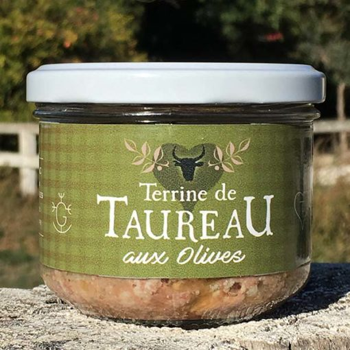 Terrine taureau olives